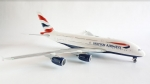 Model Airbus A380 British Airw. HERPA