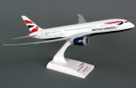 Model Boeing 787 British Airways SKYMARKS.