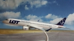 Model Embraer 195 LOT Polish Airlines